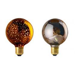 Ampoule Déco. Globe Silver...