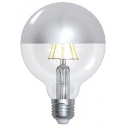 Ampoule Sphérique argentée...